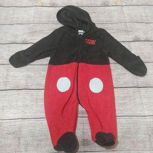 DISNEY Mickey mouse footies